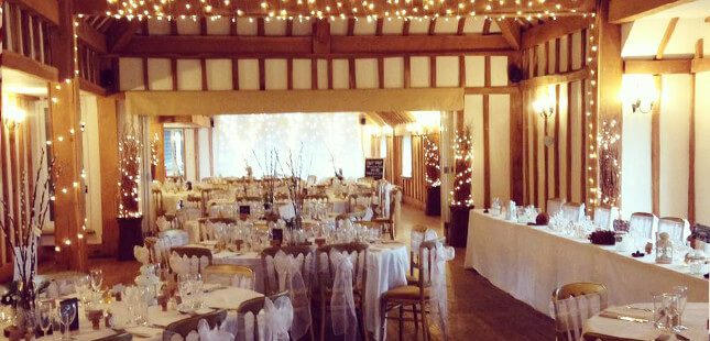Vaulty Manor Wedding Barn Essex