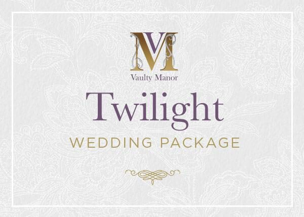 Twilight Wedding Package Vaultymanor Weddings Venue